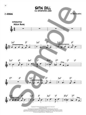 Easy Jazz Play-Along Volume 1: First Jazz Songs (noty, nástroje C