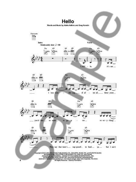 Ukulele Play-Along 40: Today's Hits (noty, melodická linka, akordy