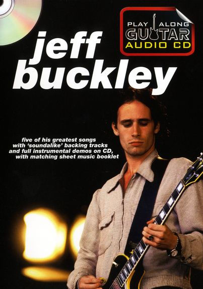 Play Along Guitar Audio CD: Jeff Buckley (tabulatury, noty, kytara) (+doprovodné CD)