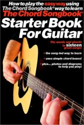 The Chord Songbook Starter Book For Guitar (akordy, texty, kytara)