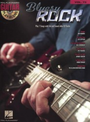 Guitar Play-Along Volume 73: Bluesy Rock (tabulatury, noty, kytara) (+doprovodné CD)