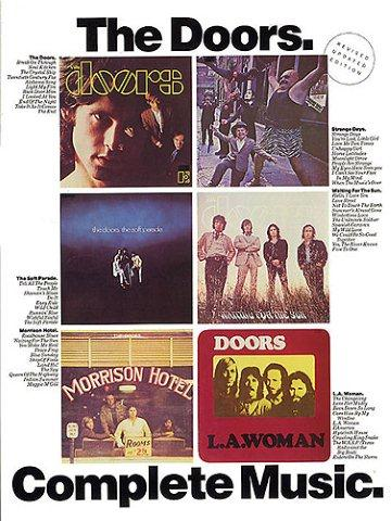 The Doors Complete Music Noty Akordy Texty Klav 237 R