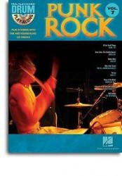Drum Play-Along Volume 7: Punk Rock (noty, bicí) (+CD)