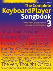 The Complete Keyboard Player: Songbook 3 (noty, akordy, texty)