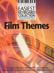 Easiest Keyboard Collection: Film Themes (noty, akordy, texty)