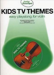 Junior Guest Spot: Kids TV Themes - Easy Playalong (Violin) (noty, housle) (+CD)