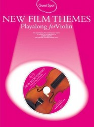 Guest Spot: New Film Themes Playalong For Violin (noty, housle) (+CD)