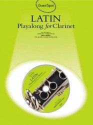 Guest Spot: Latin Playalong For Clarinet (noty, klarinet) (+CD)