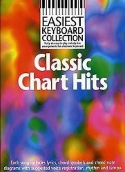 Easiest Keyboard Collection: Classic Chart Hits (noty, akordy, texty)
