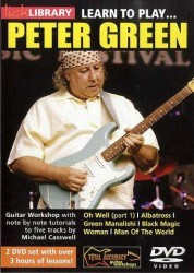 Lick Library: Learn To Play Peter Green (video škola hry na kytaru)
