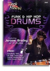Jerome Brailey (Parliament Funkadelic): Funk & Hip Hop Drums (video škola hry na bicí)