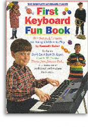 The Complete Keyboard Player: First Keyboard Fun Book (noty, keyboard)