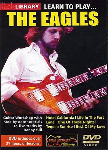 Lick Library: Learn To Play The Eagles (DVD) (video škola hry na kytaru)