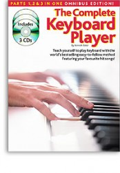 The Complete Keyboard Player: Omnibus Edition (Revised Edition) (noty, akordy, texty) (+CD)