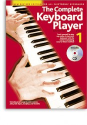 The Complete Keyboard Player: Book 1 With CD (Revised Edition) (noty, keyboard)