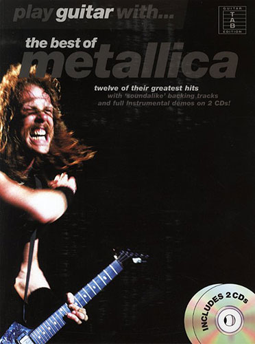 Play Guitar With... The Best Of Metallica (tabulatury, noty, kytara) (+ doprovodné CD)
