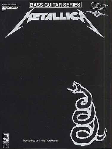 Play It Like It Is Bass: Metallica - The Black Album (tabulatury, noty, baskytara)