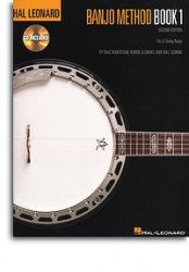Hal Leonard Banjo Method: Book 1 (tabulatury, noty, banjo) (+doprovodné CD)