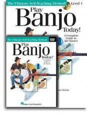 Play Banjo Today! Beginner's Pack (noty, tabulatury, banjo) (+doprovodné CD & DVD)