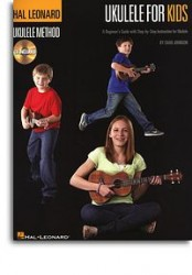 The Hal Leonard Ukulele Method: Ukulele For Kids (noty, akordy, ukulele) (+online audio)