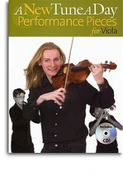 A New Tune A Day: Performance Pieces (Viola) (noty, viola) (+doprovodné CD)