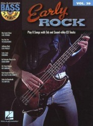 Bass Play-Along Volume 30: Early Rock (noty, tabulatury na baskytaru) (+CD)