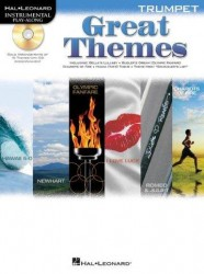 Trumpet Play-Along: Great Themes (noty, trubka) (+doprovodné CD)