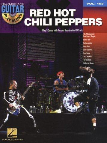 Guitar Play-Along Volume 153: Red Hot Chili Peppers (noty, taby na kytaru) (+doprovodné CD)