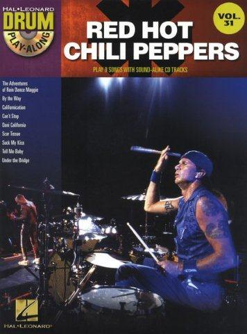 Drum Play-Along Volume 31: Red Hot Chili Peppers (noty, bicí) (+doprovodné CD)