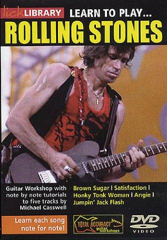 Lick Library: Learn To Play The Rolling Stones (DVD) (video škola hry na kytaru)