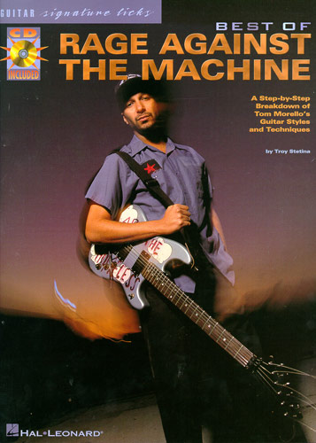 The Best Of Rage Against The Machine: Guitar Signature Licks (tabulatury, noty, akordy, kytara) (+CD)