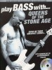 Play Bass With... Queens Of The Stone Age (tabulatury, noty, baskytara) (+doprovodné CD)