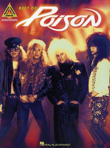Best Of Poison (Guitar Recorded Versions) (tabulatury, noty, kytara)