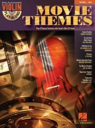 Violin Play-Along Volume 31: Movie Themes (noty na housle) (+CD)