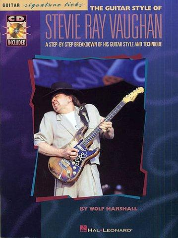 Stevie Ray Vaughan Guitar Styles - Guitar Signature Licks (tabulatury, noty, kytara) (+doprovodné CD)