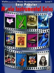 Easy Popular Movie Instrumental Solos - Violin And Piano Accompaniment (noty na housle, klavírní doprovod) (+CD)