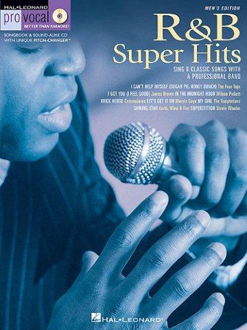 Pro Vocal Men's Edition 6: R&B Super Hits (noty, melodická linka, akordy) (+CD)