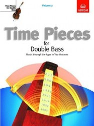 Time Pieces For Double Bass - Volume 2 (noty na kontrabas, klavír)