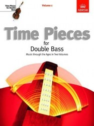 Time Pieces For Double Bass - Volume 1 (noty na kontrabas, klavír)