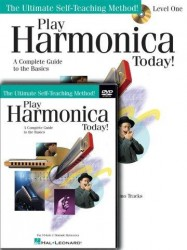 Play Harmonica Today! Beginner's Pack (noty na harmoniku) (+CD & DVD)