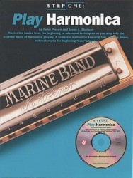 Step One Play Harmonica (noty na harmoniku) (+CD)