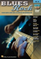 Guitar Play-Along DVD Volume 28: Blues Rock (instruktážní DVD pro kytaru)