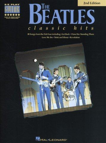 The Beatles Classic Hits - 2nd Edition (noty, taby na kytaru)