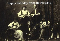 Blahopřání: Happy Birthday From All The Gang