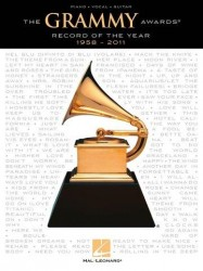 The Grammy Awards: Record of the Year 1958-2011 (noty na klavír, zpěv, akordy na kytaru)