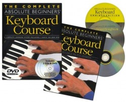 The Complete Absolute Beginners Keyboard Course (noty na keyboard) (+CD & DVD)