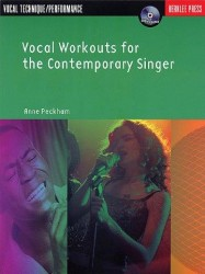 Anne Peckham: Vocal Workouts For The Contemporary Singer (noty na zpěv) (+CD)