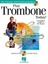 Play Trombone Today! - A Complete Guide To The Basics (noty na pozoun) (+CD)