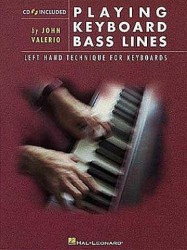 Playing Keyboard Bass Lines (noty na keyboard) (+CD)