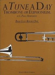 A Tune A Day For Trombone Or Euphonium Bass Clef Book 1 (noty na pozoun, eufonium)